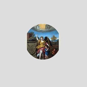 Domenichino - Guardian Angel - 1615 Mini Button