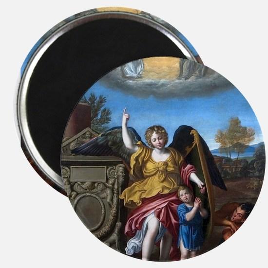 Domenichino - Guardian Angel - 1615 Magnets