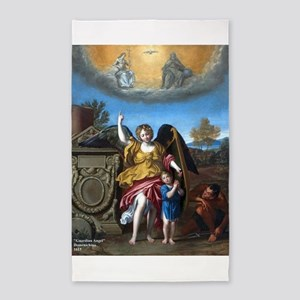 Domenichino - Guardian Angel - 1615 3'x5' Area Rug