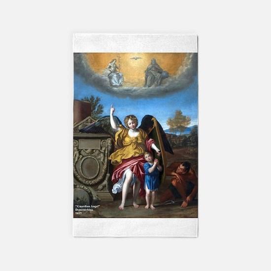 Domenichino - Guardian Angel - 1615 3'x5' Area Rug