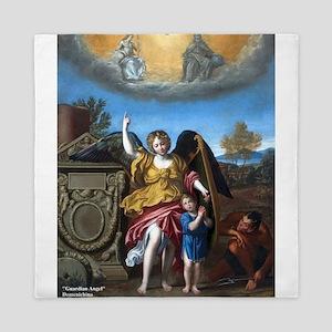 Domenichino - Guardian Angel - 1615 Queen Duvet