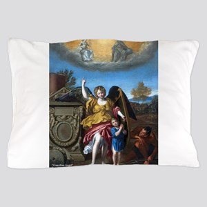 Domenichino - Guardian Angel - 1615 Pillow Case