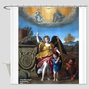 Domenichino - Guardian Angel - 1615 Shower Curtain