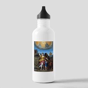 Domenichino - Guardian Angel - 1615 Water Bottle