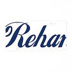 Rehan Aluminum License Plate