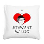 ILoveStewartMango copy Square Canvas Pillow