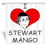ILoveStewartMango copy Shower Curtain