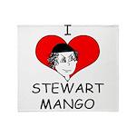 ILoveStewartMango copy Throw Blanket