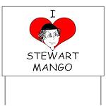 ILoveStewartMango copy Yard Sign