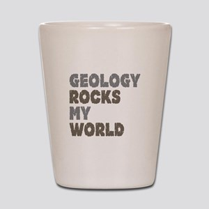 Geology Rocks Shot Glass
