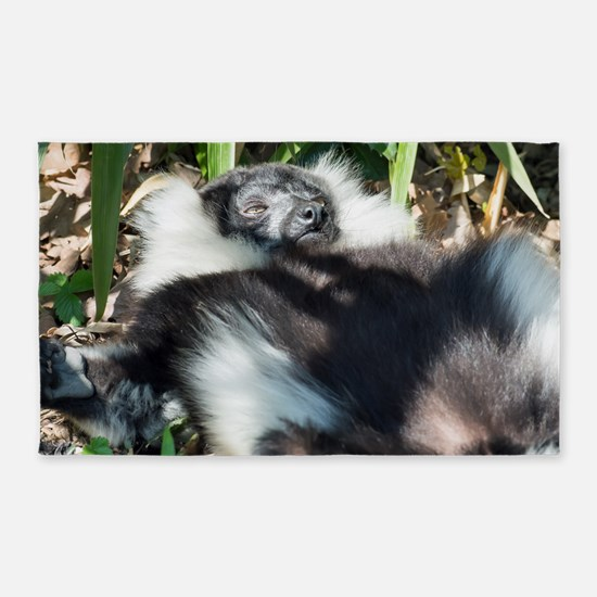 Lazy Lemur 3'x5' Area Rug