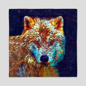 Pop Art Wolf Queen Duvet