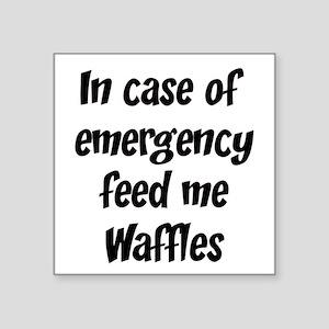 Waffles Sticker