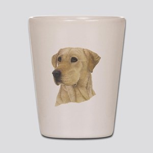 Yellow Lab Shot Glass