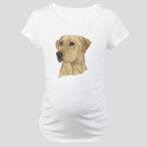 Yellow Lab Maternity T-Shirt