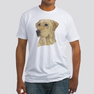 Yellow Lab Fitted T-Shirt