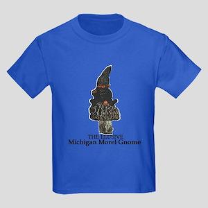 Michigan Morel hunter Kids Dark T-Shirt