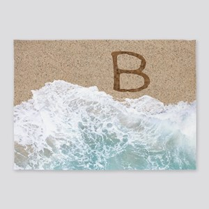 LETTERS IN SAND B 5'x7'Area Rug