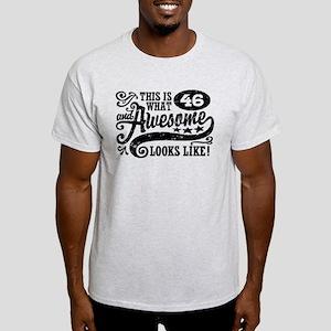 46th Birthday Light T-Shirt