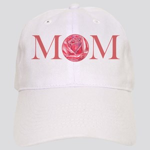 MOM red rose Cap