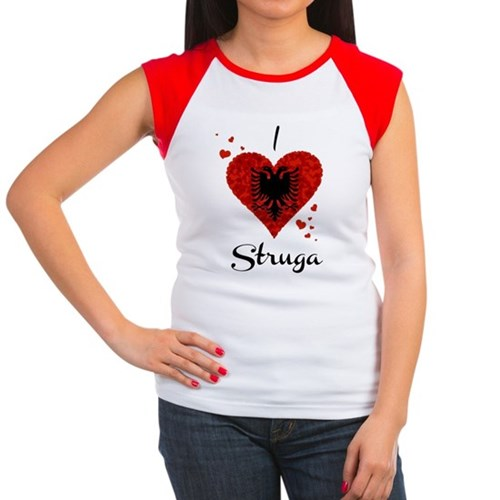 I Love Struga Women's Cap Sleeve T-Shirt