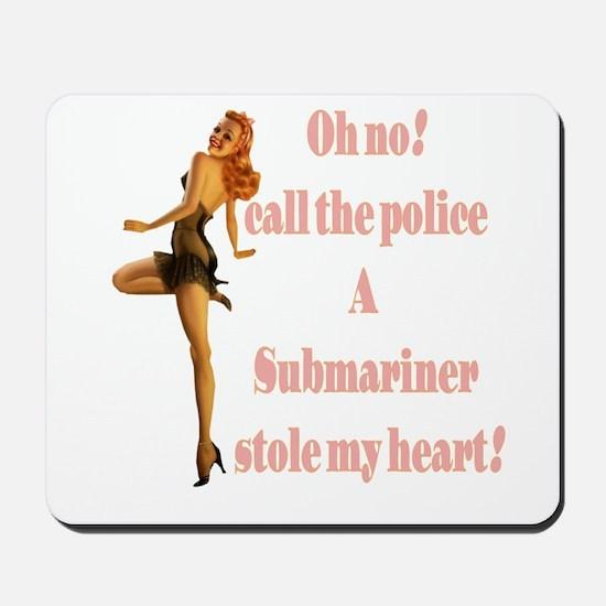 oh no submariner Mousepad