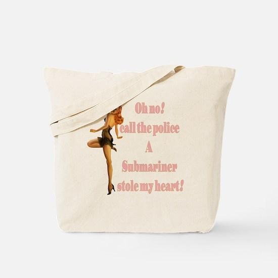 oh no submariner Tote Bag