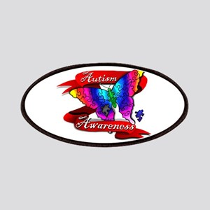 Autism Awareness Butterfly Design Patches