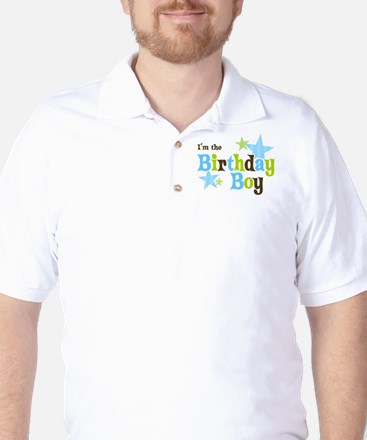 Birthday Boy Golf Shirt