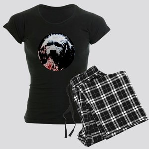 Dog # 20 Women's Dark Pajamas