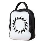 sunny flames Neoprene Lunch Bag