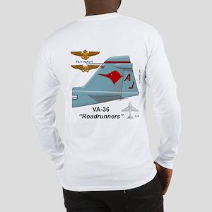 A-6 Intruder Va-36 Roadrunners Long Sleeve T-Shirt