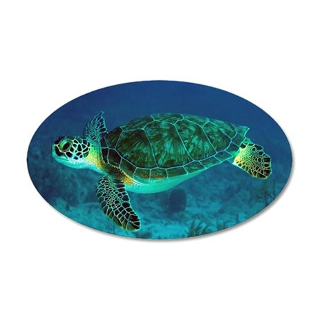 Ocean Turtle Wall Decal