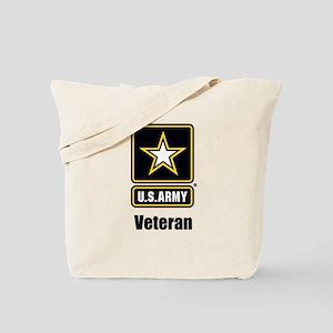 U.S. Army Veteran Tote Bag