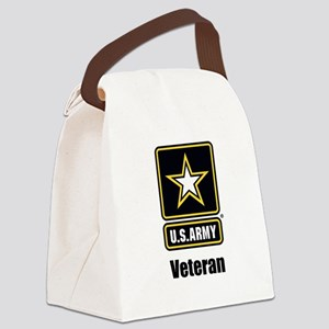 U.S. Army Veteran Canvas Lunch Bag