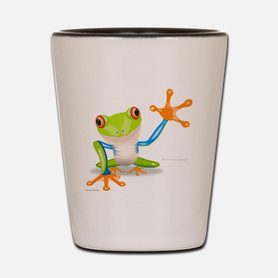 Fred Frog Shot Glass