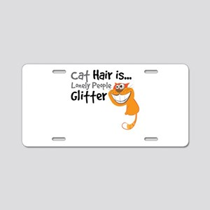 Cat Hair Is Lonely People GLITTER Ornage-01-01 Alu