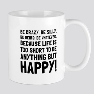 Be Happy Mugs