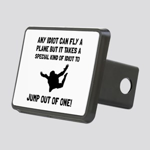 Idiot Skydiving Hitch Cover