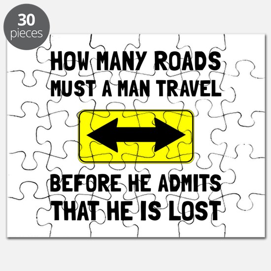 Man Is Lost Puzzle
