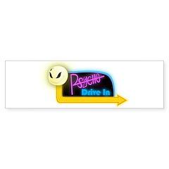 Psycho Drive-In Bumper Bumper Sticker