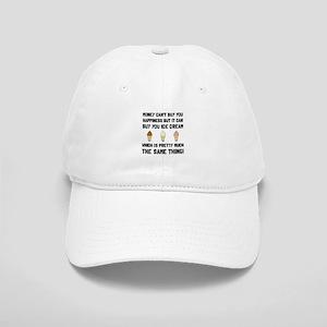 Money Buy Ice Cream Baseball Cap