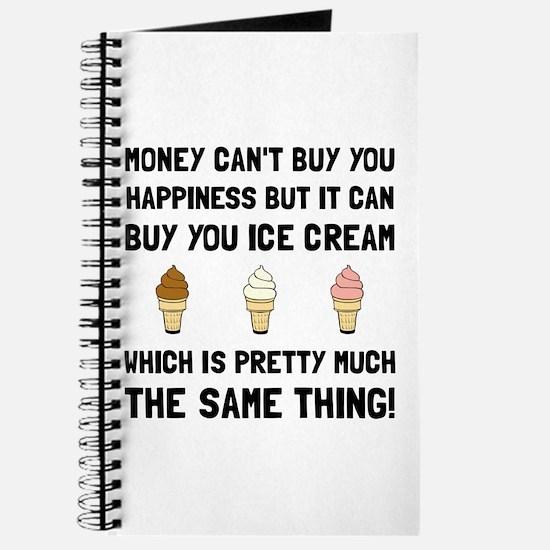 Money Buy Ice Cream Journal