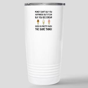 Money Buy Ice Cream Travel Mug