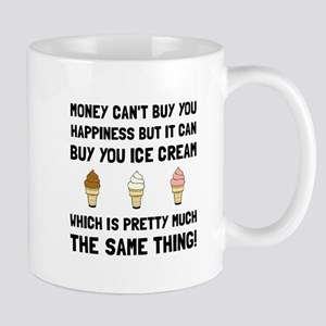 Money Buy Ice Cream Mugs