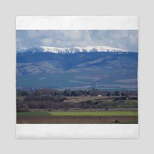Blue Mountains Queen Duvet