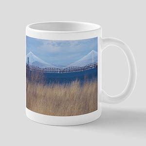 Cable Bridge Near Pasco, Washington Mugs