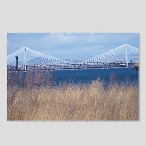 Cable Bridge Near Pasco, Washington Postcards (Pac