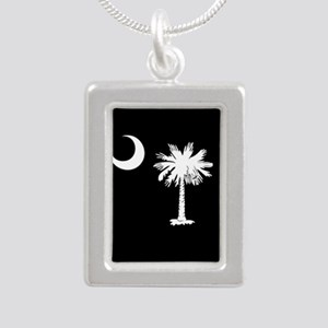 South Carolina Palmetto State Flag Necklaces