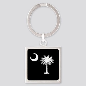 South Carolina Palmetto State Flag Keychains